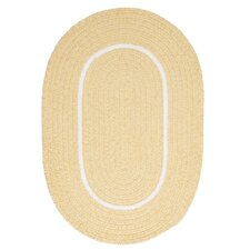 Silhouette Yellow Indoor/Outdoor Rug