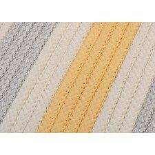 Stripe It Yellow Shimmer Sample Swatch