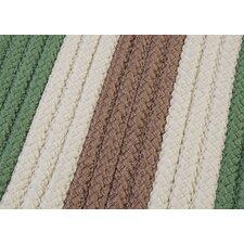 Stripe It Moss-stone Sample Swatch