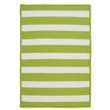 Stripe It Bright Lime Indoor/Outdoor Rug