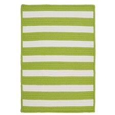 <strong>Colonial Mills</strong> Stripe It Bright Lime Rug