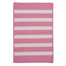 Stripe It Bold Pink Indoor/Outdoor Rug