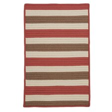 Stripe It Terracotta Indoor/Outdoor Rug