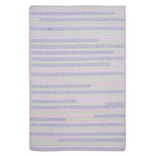 Ticking Stripe Oval Dreamland Rug