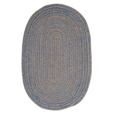 Softex Check Blue Ice Check Indoor/Outdoor Area Rug