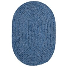 Spring Meadow Petal Blue Area Rug