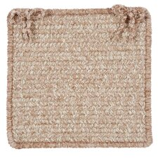 <strong>Colonial Mills</strong> Texture Woven Chair Pad (Set of 4)
