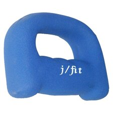 <strong>J Fit</strong> Neoprene Grip Dumbbell Weight
