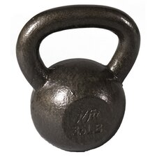 <strong>J Fit</strong> 40 lbs Cast Iron Kettlebell