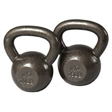 30-35 lbs Cast Iron Kettlebell Set