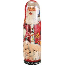 Russia Santa Polar Bears Bottle Holder