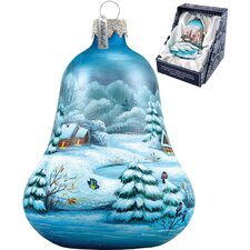 Winter Village Bell Ornament