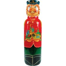 Russia Nutcracker Bottle Holder