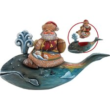 Derevo Santa on Whale Box