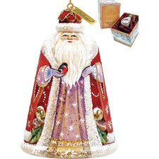 Majestic Santa Bell Ornament
