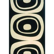 Elements Black/Ivory Area Rug