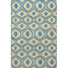 Bliss Blue Tufted Rug
