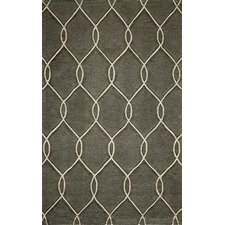 Bliss Steel Tufted Area Rug