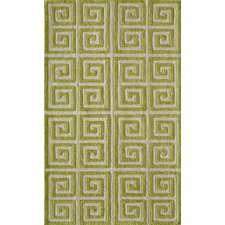 Bliss Apple Green Area Rug