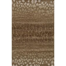 Delhi Brown Tufted Rug