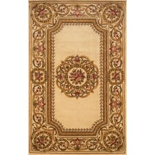 Harmony Ivory/White Tufted Floral Area Rug