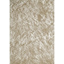 Luster Shag White Tufted Rug