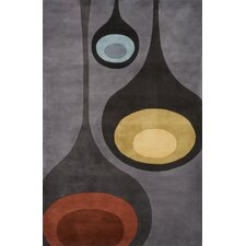 New Wave Steel Rug