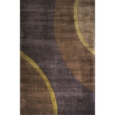 New Wave Plum Rug