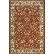 Persian Garden Red/Ivory Area Rug