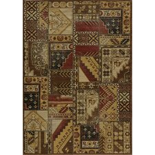 Vintage Tribal Gold Rug