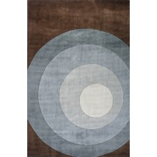 New Wave Teal Area Rug