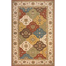 Persian Garden Assorted Colors Area Rug