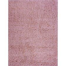 Comfort Shag Pink Area Rug