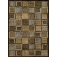 Dream Square Brown Rug
