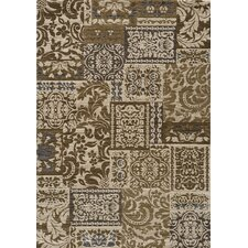 Dream Damask Ivory Area Rug