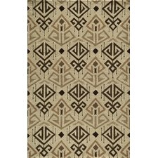 Habitat Cream Ikat Area Rug