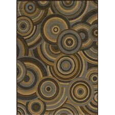 Dream Brown Circle Area Rug