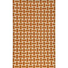 <strong>Momeni</strong> Laguna Orange Geometric Rug