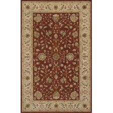 Imperial Court Rust/Brown Area Rug