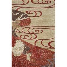Koi Red/Ivory Rug