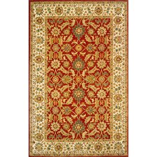 Mahal Red Area Rug