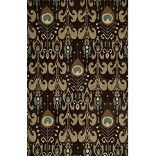 Habitat Chocolate Ikat Area Rug