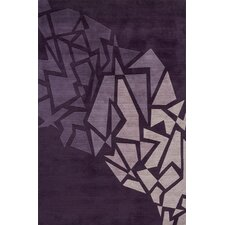 New Wave Purple Rug