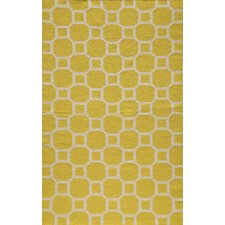 Laguna Lemon Geometric Rug