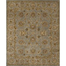 Mahal Light Blue/Brown Rug
