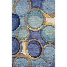 New Wave Blue Rug