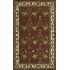 Persian Garden Salmon/Green Area Rug