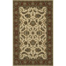 Persian Garden Ivory/Green Area Rug