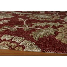 Summit Bold Floral Brick Area Rug