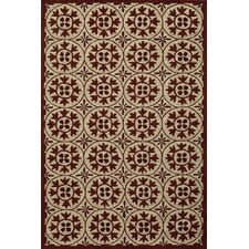 Veranda Red Outdoor Rug